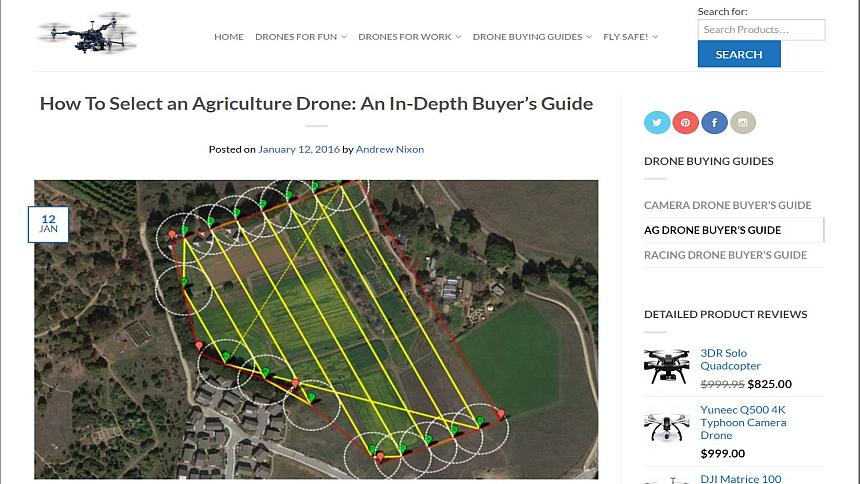 Ag Drone Buyers Guide