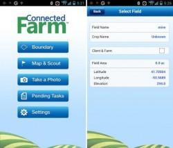 Trimble App for Connected Farm