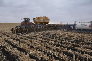 The SoilWarrior N can deliver anhydrous ammonia and liquid or dry fertilizer.
