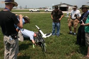 UAV Field Day Shot