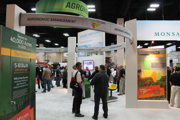 Monsanto FieldScripts Booth, 2014 Commodity Classic