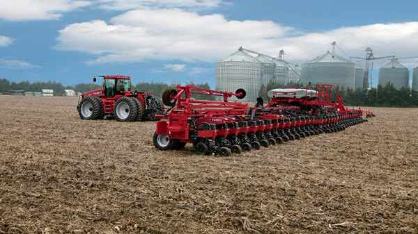 The Early Riser plant brings together the best row unit with the latest technology from Precision Planting. Photo credit: Case IH