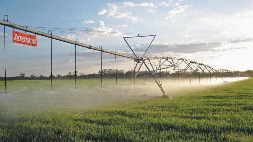 Lindsay Irrigation, Zimmatic pivot