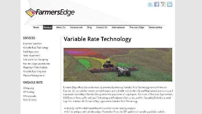 Farmers Edge screenshot
