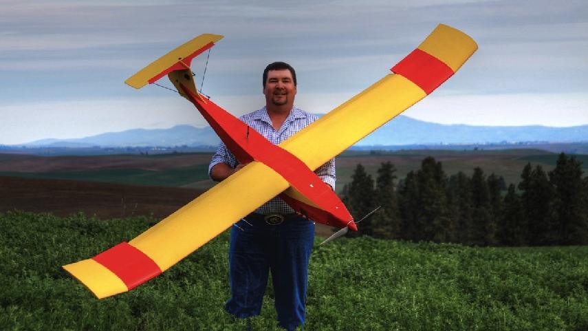Idaho farmer Robert Blair, the author of the popular TheUnmannedFarmer blog.