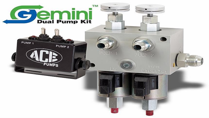 Ace Gemini Dual Pump kit