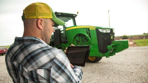 MyJohnDeere tablet