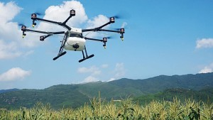DJI Launches Drone With Spray Capabilities