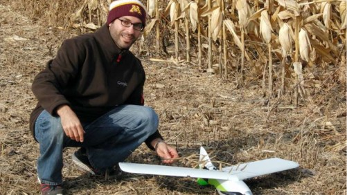 University of Minnesota Student with UAS