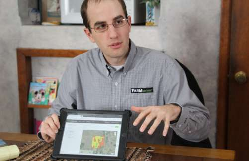 FarmServer Field Advisor Mike Hannewald