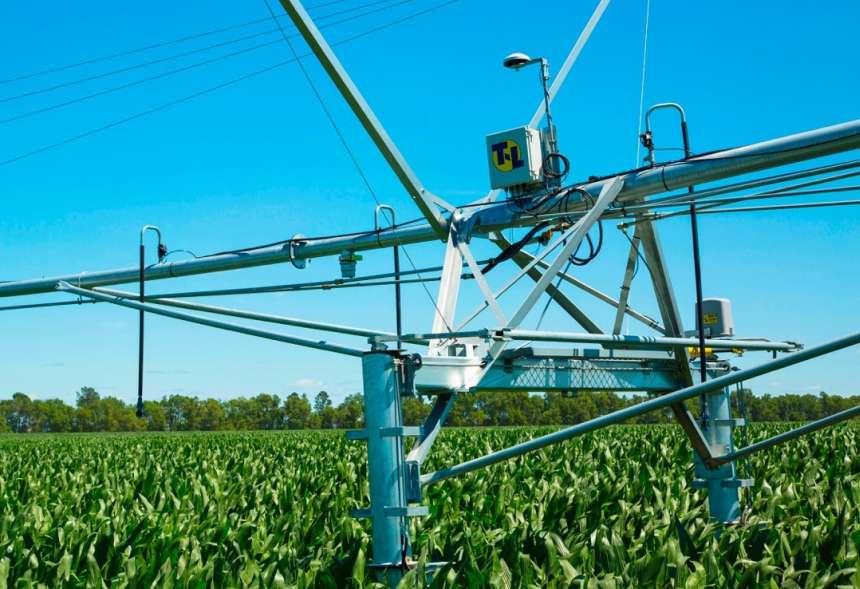 T-L Irrigation GPS avigation Corner System