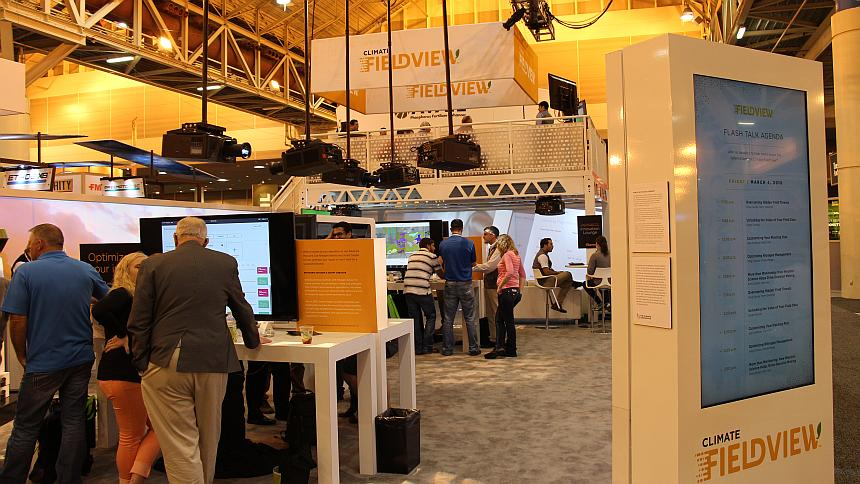 Climate Corporation Booth Commodity Classic 2016