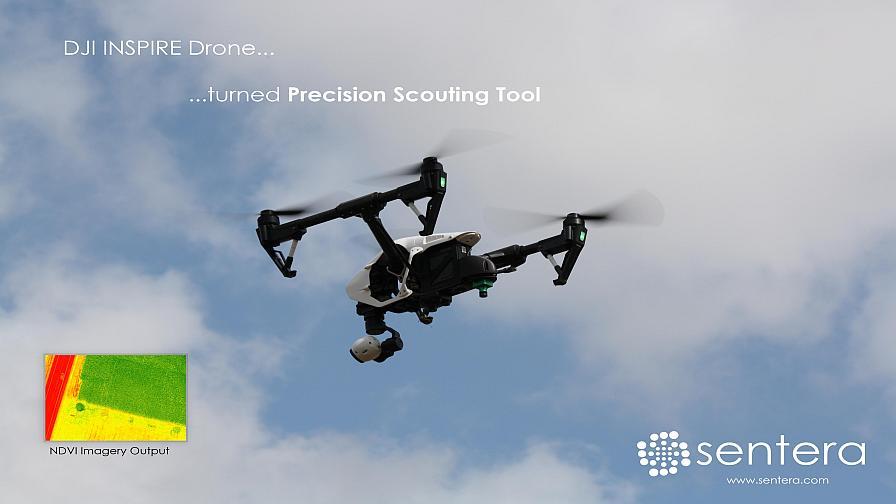 Sentera Launches NDVI Upgrade For DJI INSPIRE Drone - PrecisionAg