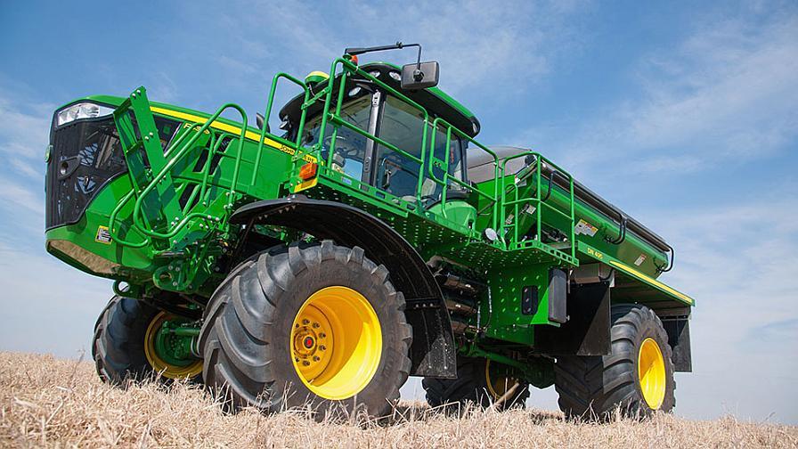 John Deere introduces the F4365 High Capacity Nutrient Applicator.
