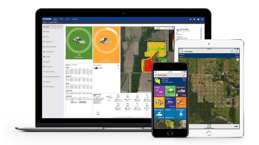 Trimble Ag Software
