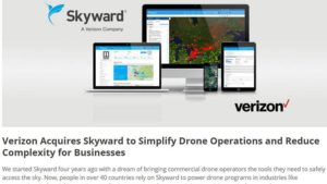 Drone Startup Hits VC Jackpot: Skyward Acquired by Verizon