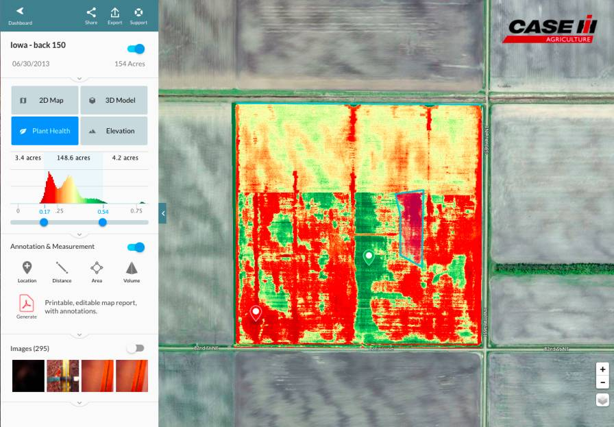 Case IH - AFS AccuStar and UAV Offering - DroneDeploy_MapRGB