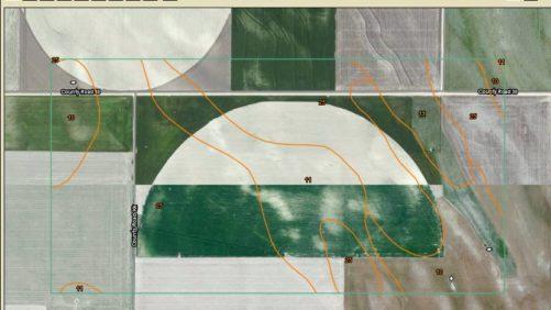 Web Soil Survey soils map