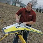 Erich Eller ForeFront Ag Solutions with Ag Eagle-drone