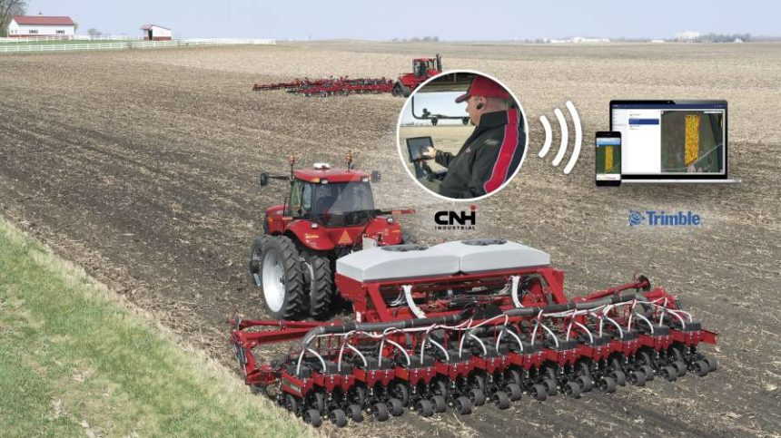 Trimble, CNH Collaborate on Data Sharing Connectivity