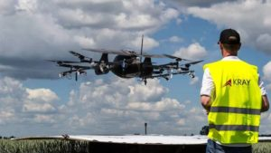 Crop Spraying Drone Manufacturer Kray Technologies Gets Investment from CIG