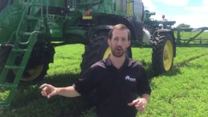 Field Trial: Precision Application and Curve Compensation on Sprayers