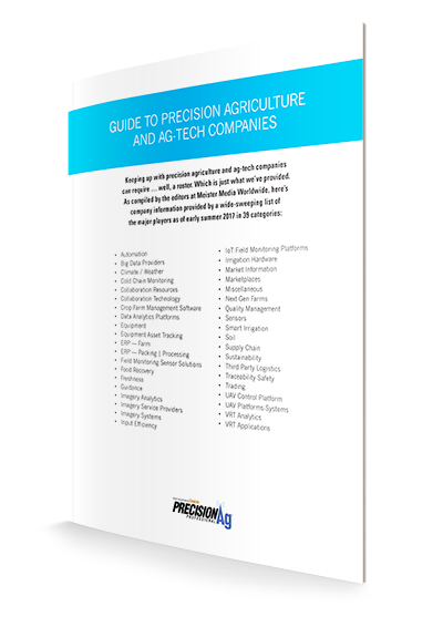 Guide to Precision Agriculture and Ag-Tech Companies