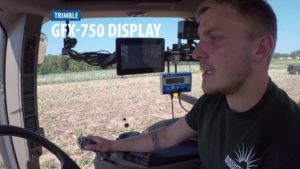 Trimble Introduces GFX-750 Display System with Advanced Guidance Controller