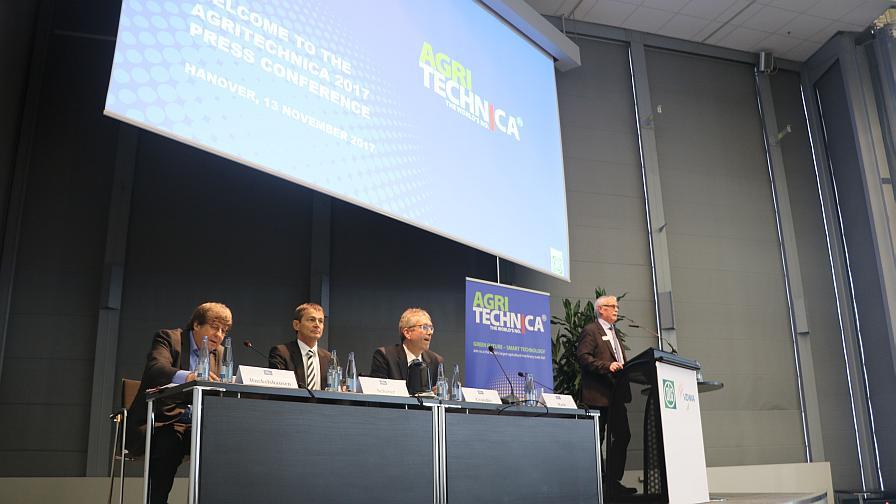 Agritechnica 2017: Executives Discuss Europe Ag Tech Adoption