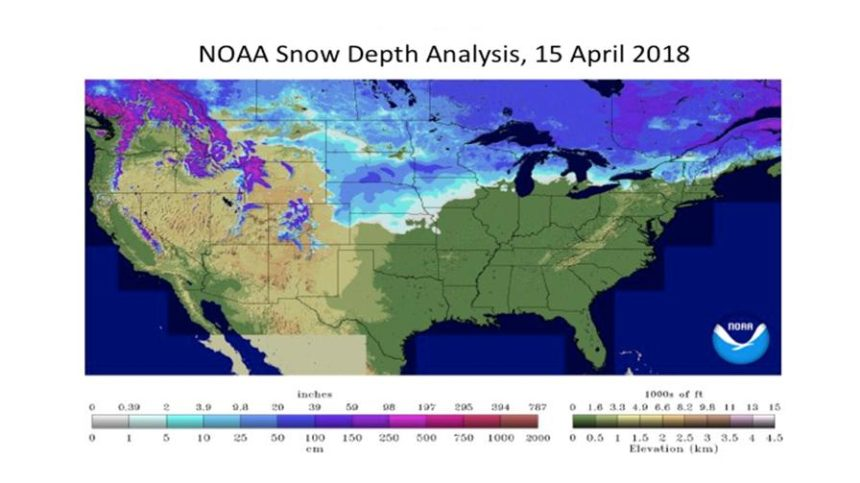 Rebounding Spring for 2018 Planting: Cold April Weather Finally Gives Way to Promising May Forecast