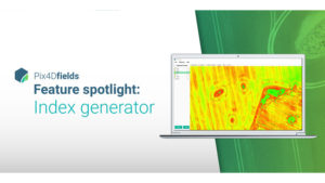One more easy to use tool in your Precision Ag toolbox: Pix4Dfields vegetation indices