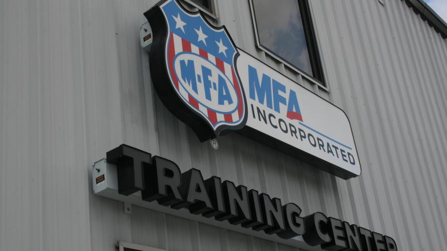 MFA training-center-sign