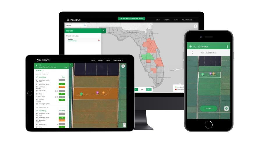Farm Dog, John Deere, and ADAMA Unveil Mobile-to-Sprayer Integration Solution