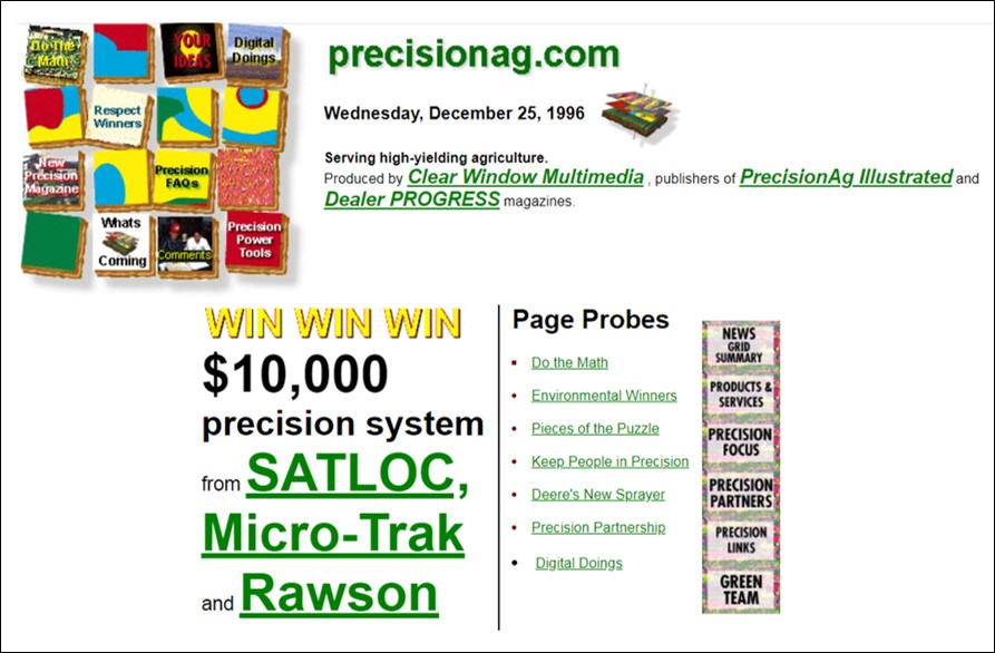 Introducing an All-New PrecisionAg.com