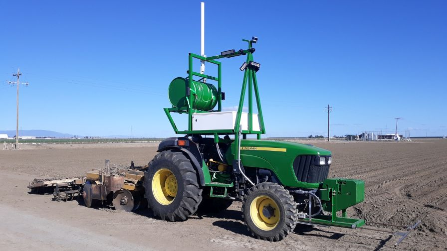 Specialty Crops: The 'Uber' of Driver-less Tractors?