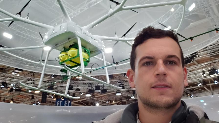 Mauricio Netto at Agritechnica 2019