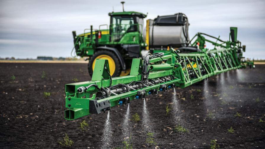 Deere's See & Spray Select Release Is First Fruit of Blue River Acquisition